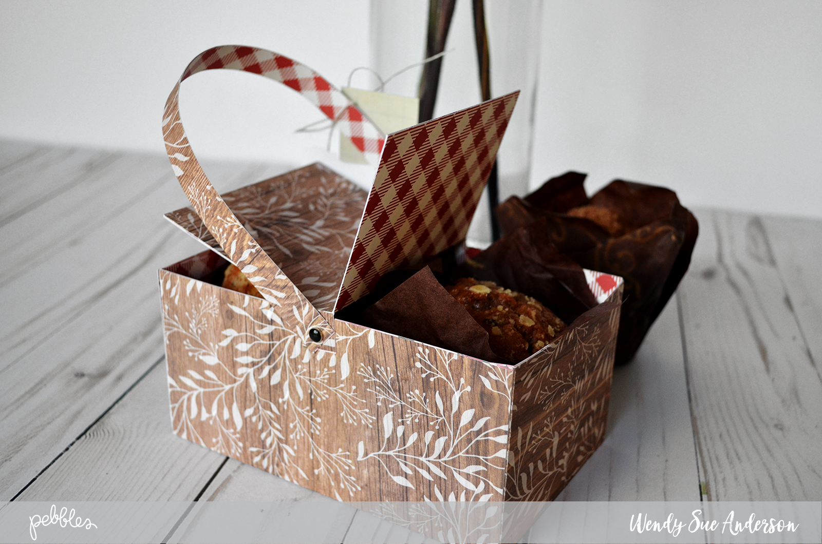 "Picnic basket quick gift by @wendysuea with the ""Simple Life"" collection for @Pebblesinc."