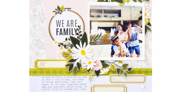 Rule of Thirds Heart of Home Inspired Layout!