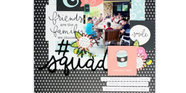 Picnics and BBQs Layout with Girl Squad!