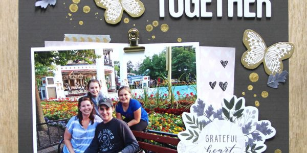 Time Together Layout featuring Heart Of Home