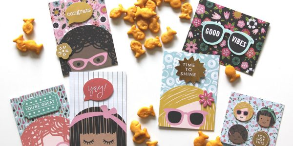 DIY Lunchbox Note Cards using Girl Squad