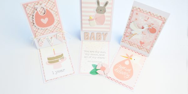 Baby Girl Lullaby Cards