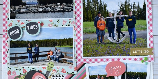Scrapbook a Family Vacation!