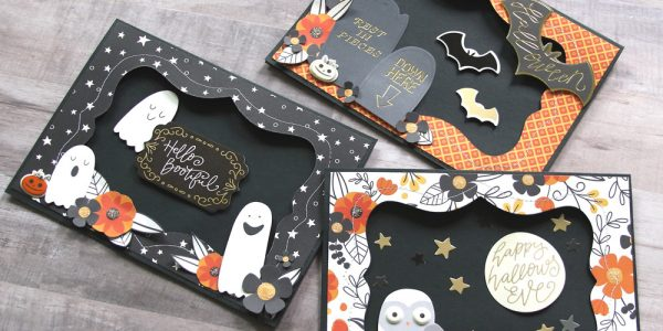 Bootiful Halloween Cards featuring Midnight Haunting