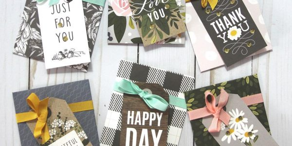 Quick Gift Card Holders with Heart Of Home