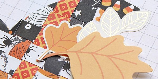 Tuesday Tips and Paper Weaving A Pumpkin with Midnight Haunting