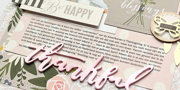 Heart of Home Thankful Layout