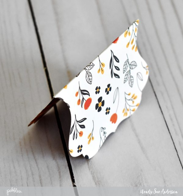"""Thanksgiving treat packets by @wendysue with the """"Midnight Haunting"""" collection from @PebblesInc."""