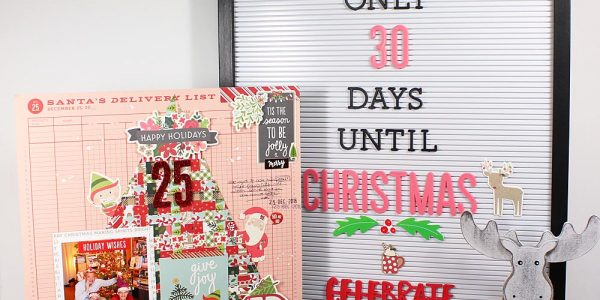 Use A Letter Board To Count Down To The Holidays!