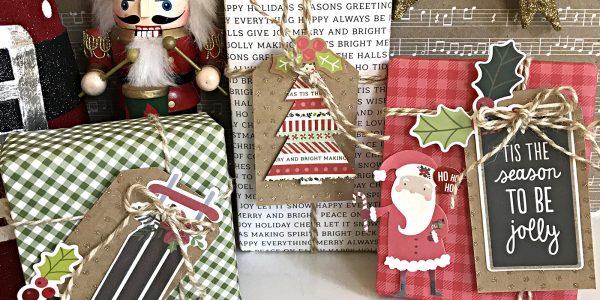 DIY Christmas Gift Wrap Tags