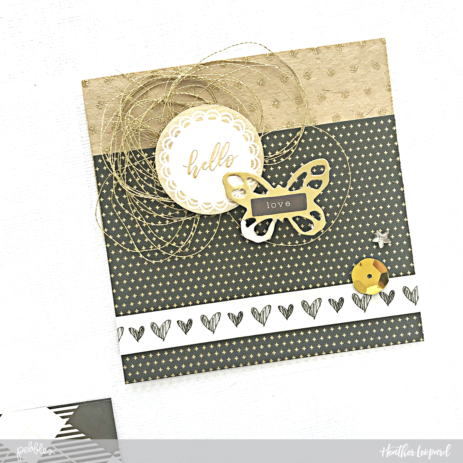 New Years Resolutions Pocket Page by @Heather Leopard for @PebblesInc #madewithpebbles #2018 #2018resolution #resolutions #scrapbooking #scrapbook #pocketpage #projectlife