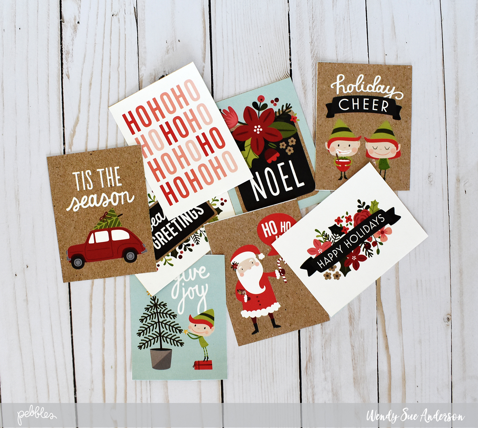 Quick and Easy Christmas Cards , Pebbles, Inc.