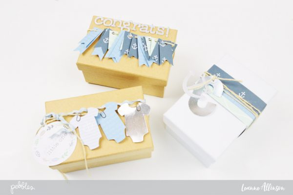 Pebbles Inc Night NIght Baby Shower Gift Giving Decor