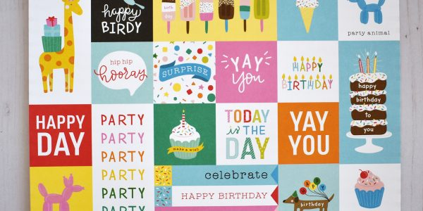 "Getting Start With Cardmaking Blog Post by @wendysue featuring the ""Happy Hooray"" collection from @PebblesInc."