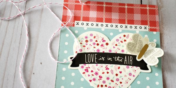 "Easy Valentine's Day cards with ""Forever My Always"""