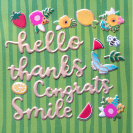 A new collection is here! Puffy stickers are perfect for finishing off cards, scrapbook pages, gift boxes and more! Available now from @pebblesinc and @tatertotsandjello