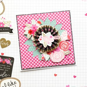 Guest blogger @enzam78 worked her Forever my Always paper into beautiful projects! Thanks for joining us, we know you'll be inspired! @pebblesinc