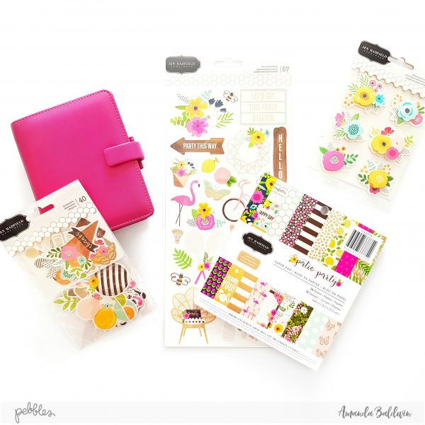 This Line Is So Pretty, And The Colors In Patio Party Will Brighten Any  Dull Organizer! And While I Want To Create A Much Happier, Prettier Planner  I Also ...