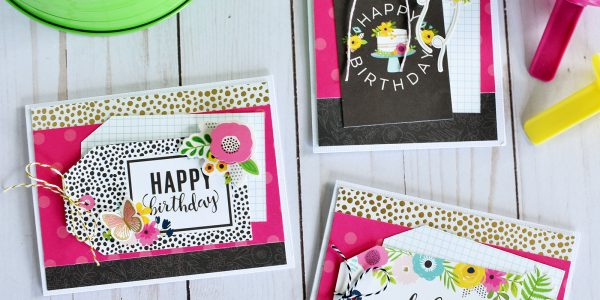 "Spring Cards with ""Patio Party"""