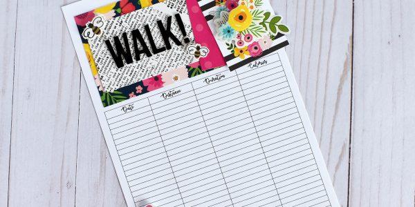 Walking Journal/Planner