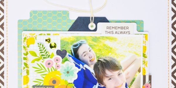 Sharing Sibling Stories   A Patio Party Layout