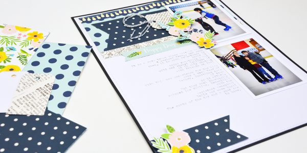 Creating Patterned Paper Embellishments with Patio Party