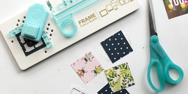 Make these easy Thank You cards in no time with this tutorial from @evapizarrov with the new Patio Party collection by @pebblesinc