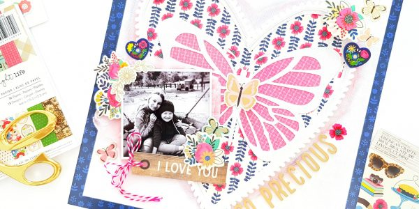 A Bright Life Layout with Amanda