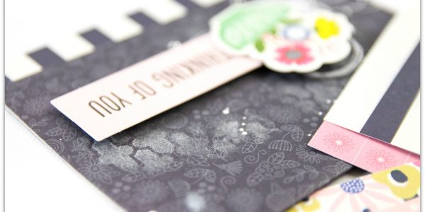 Learn to do easy Mixed Media Cards with Terhi