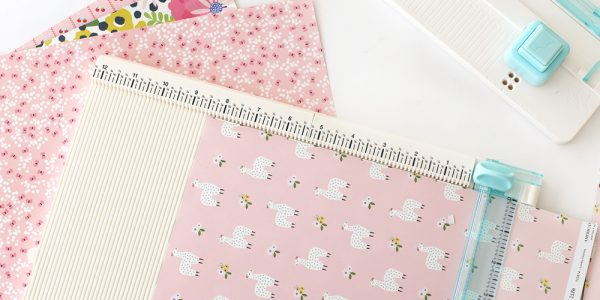 DIY Notebook with Tabs