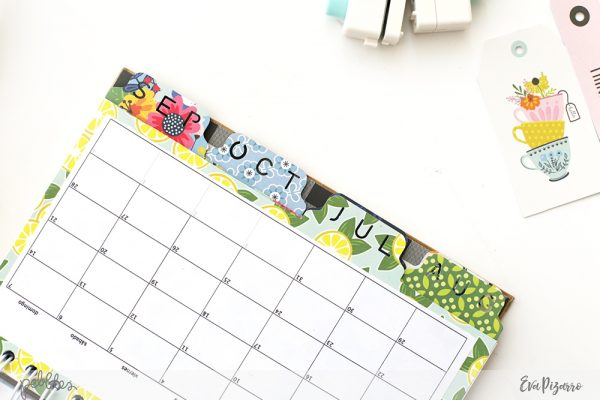 Create a DIY Notebook and organize your school year with this tutorial from @evapizarrov featuring the new Bright Life collection by @pebblesinc #madewithpebbles #pebblesinc