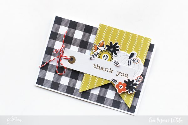 Create a fall inspired card set with @pebblesinc new Halloween line #SpookyBoo pc: @evapizarrov