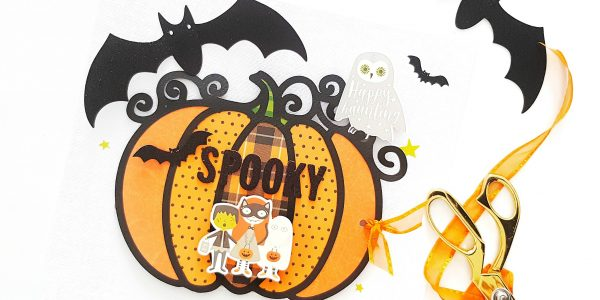 Spooky Boo! Interactive Halloween Layout & Process Video!