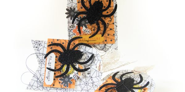 Quick Halloween Tags with Terhi