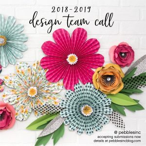 @pebblesinc has a Design Team call for 2019 - be sure to get your application in today!