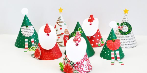 Cozy & Bright Paper Cone Advent Calendar