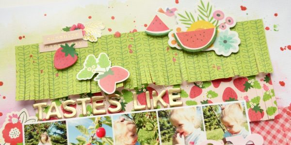 A summer-themed project with Anna, our guest designer for the day!