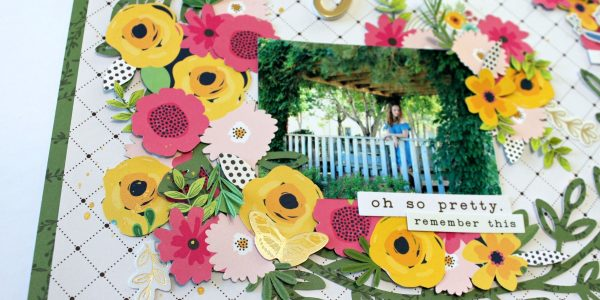 A day in the flowers with Guest Designer Michelle!