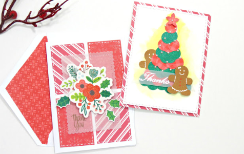 Thank You Cards with Yvette, our guest designer!