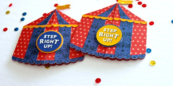 Step right up party invites