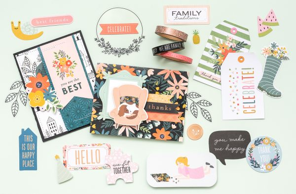 This is Family is our newest line created with the aid and inspiration of @tatertotsandjello. Be sure to check out each part and piece - you will love them! #scrapbooking