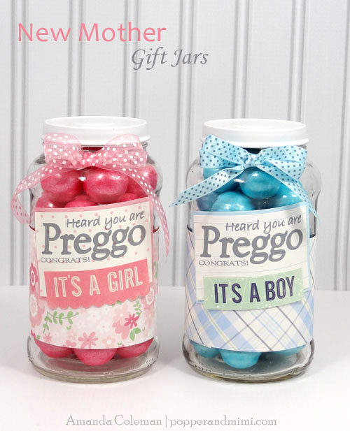 The Perfect Little Gift Jar For All Sweet Expecting Mothers In Your Life Made By