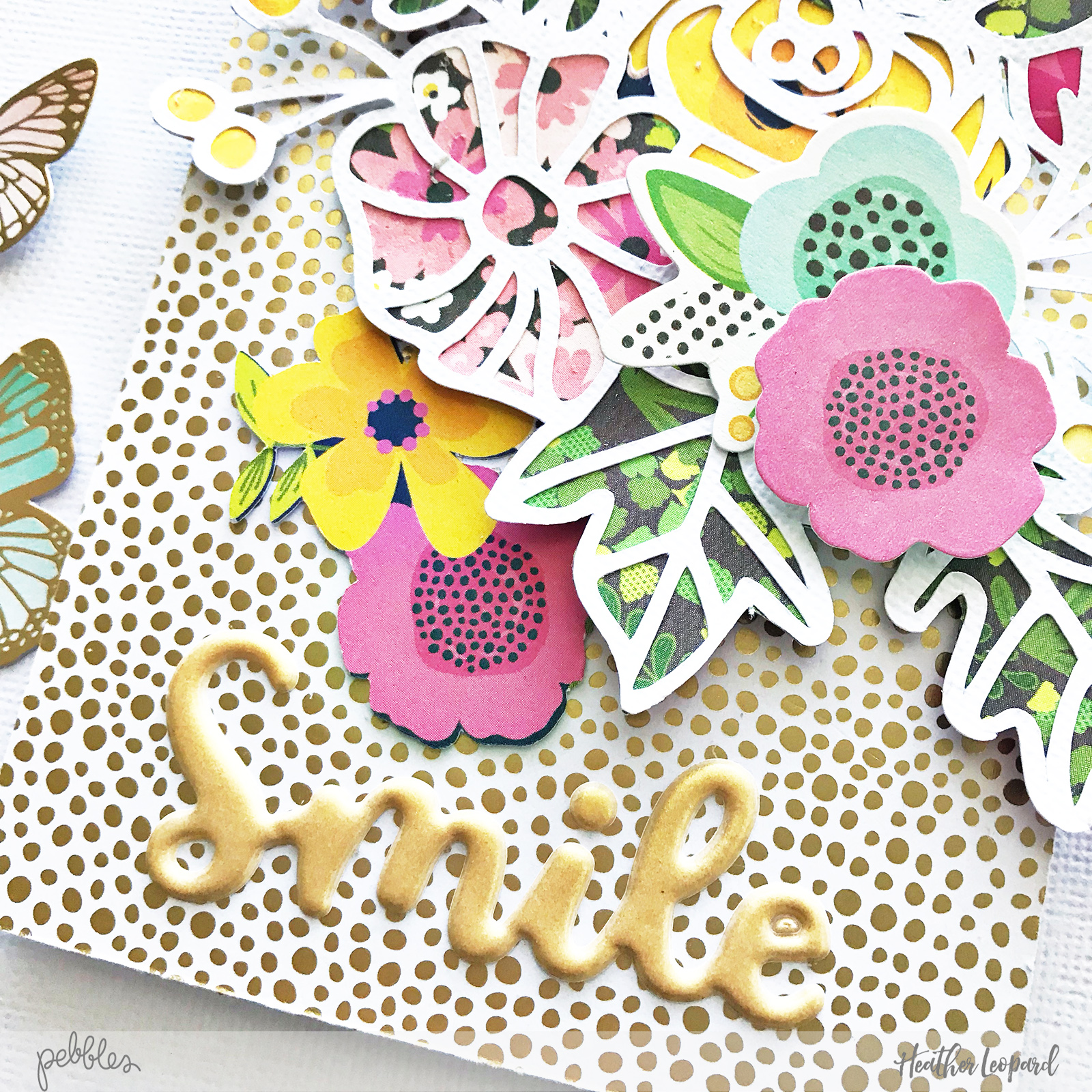 Spring Cards by @HeatherLeopard using @pebblesinc #patioparty collection #madewithpebbles #spring #cards #flowercards