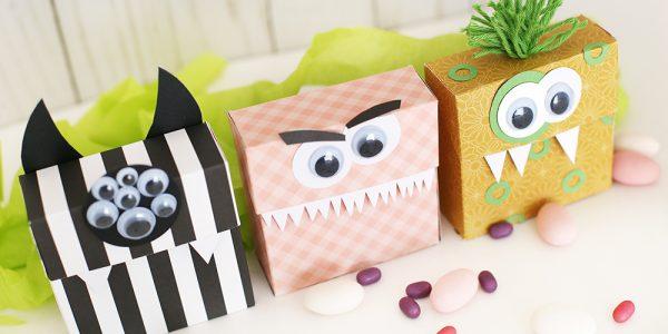 Halloween Monster Boxes